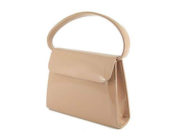 LONI Women's Synthetic Clutch Shoulder Bag Small Nude Taupe Beige: Handbags: Amazon.com