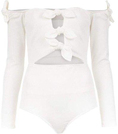 Framed Knots bodysuit
