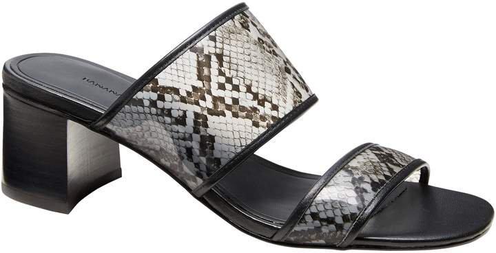 Double-Strap Mule Sandal