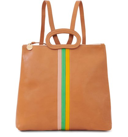 Clare V. Marcelle Leather Tote Backpack | Nordstrom