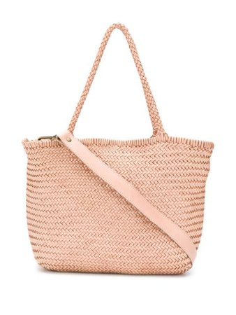 Officine Creative Susan 01 woven tote bag pink OCBSUSA01WOVED907 - Farfetch
