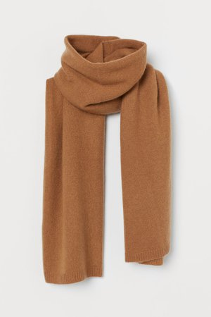 Cashmere Scarf - Light brown - Ladies | H&M US