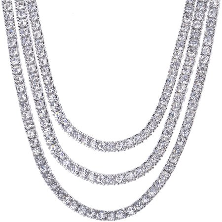 diamond chain necklace - Google Search
