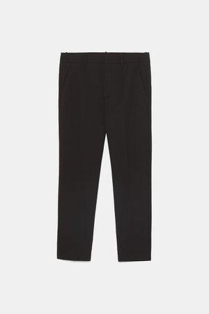 DOUBLE FACED CHINO PANTS | ZARA United States