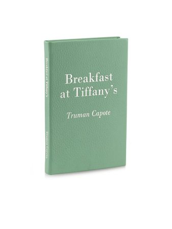 Breakfast at Tiffany's Leather-Bound Book by Graphic Image | Spring - Free Shipping. On Everything