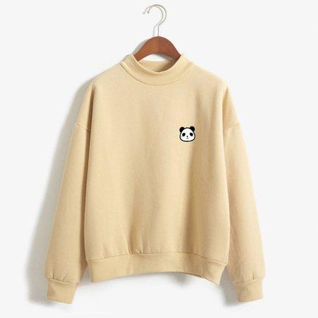 New Kpop BTS Autumn Long Sleeve Little Cute Kawaii Panda Printed Fleece Thick Winter Sweatshirt Women Hoodies Moletom Feminino-in Hoodies & Sweatshirts from Women's Clothing on Aliexpress.com | Alibaba Group
