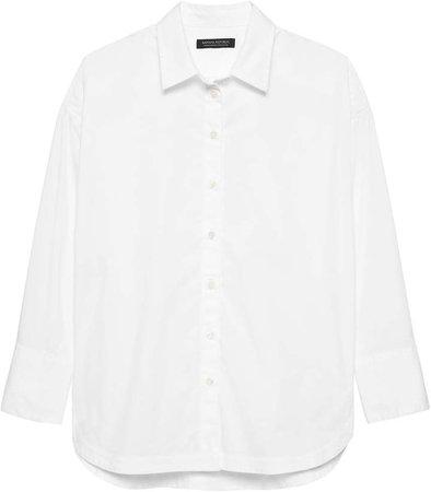 JAPAN ONLINE EXCLUSIVE Oversized Solid Shirt