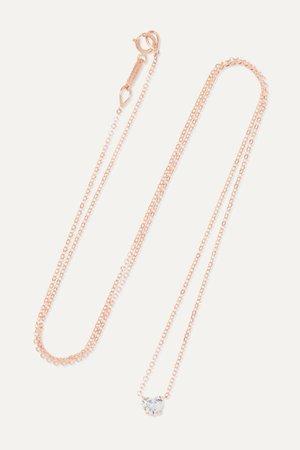 Rose gold 18-karat rose gold diamond necklace | Anita Ko | NET-A-PORTER
