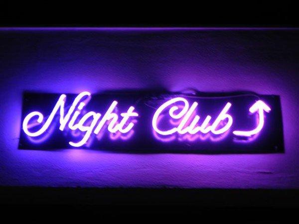 Nightclub In Neon | Neon Lights | Night club, Party, Neon