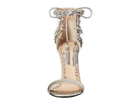Marchesa Marissa Silver Heels