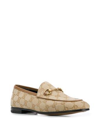 Gucci Jordaan Double G Loafers - Farfetch
