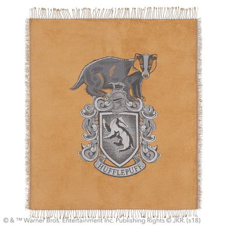 HARRY POTTER™ Chenille Crest Throw | PBteen