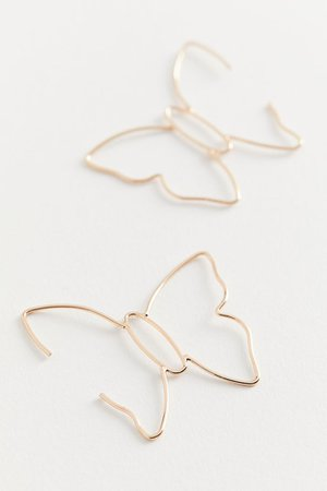 Delicate Butterfly Post Earring | Urban Outfitters