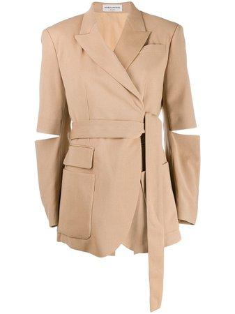 Sonia Rykiel wrap-around Styled Blazer - Farfetch