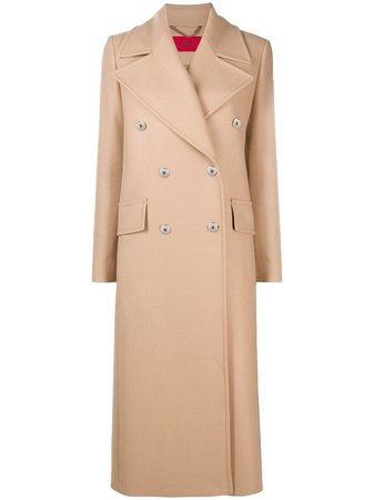 HUGO double-breasted Trench Coat - Farfetch