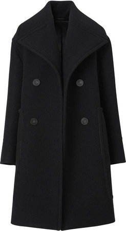 Wool Oversized Pea Coat