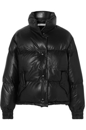 Golden Goose | Yuri quilted leather down jacket | NET-A-PORTER.COM