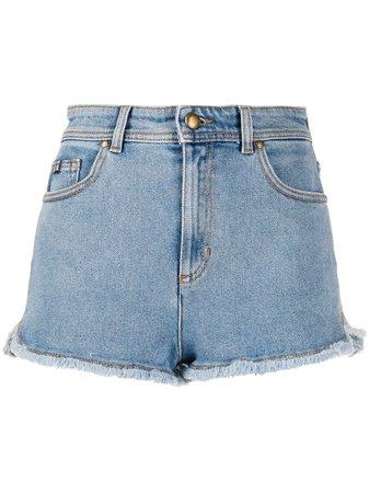 Pantalones Vaqueros Cortos Deshilachados Versace Jeans Couture 240€ - Compra Nueva Temporada - Envío ✈ Express, Devolución Gratuita Y Pago Seguro.