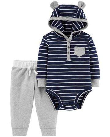 Baby Boy 2-Piece Bodysuit Pant Set   Carters.com