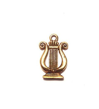 apollo cabin aesthetic gold charm png