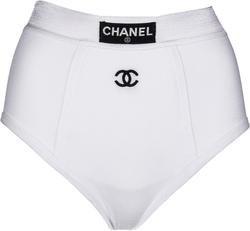 Chanel Iconic Logo Runway Briefs | EL CYCER