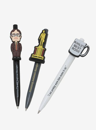 The Office Assorted Pen Topper