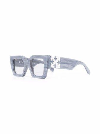 Off-White Catalina square-frame Sunglasses - Farfetch