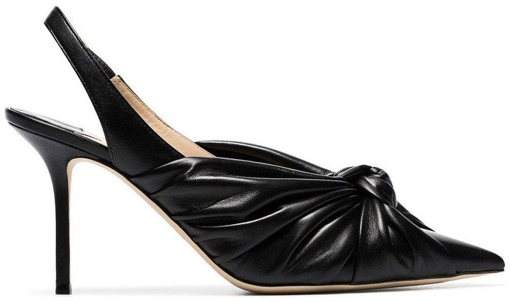 black Annabell 85 slingback pumps