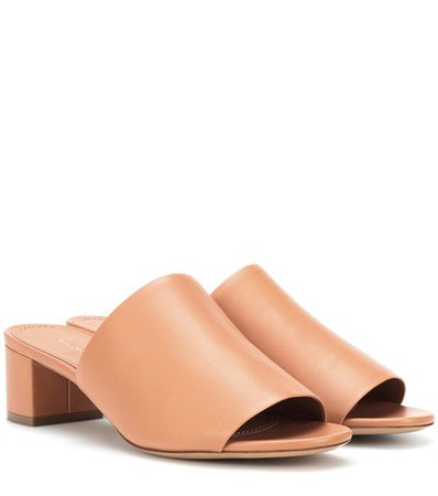 40mm leather sandals
