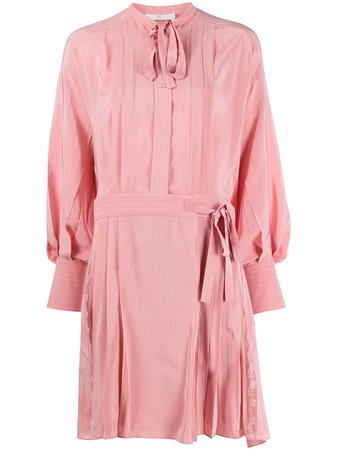 Chloé Striped Shirt Dress - Farfetch