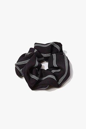 Pinstriped Hair Scrunchie | Forever 21