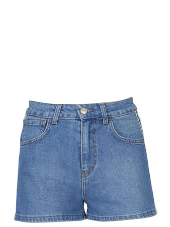 GCDS High Waisted Denim Shorts