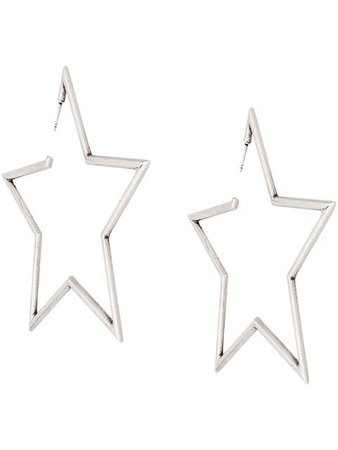 Saint Laurent Star Earrings