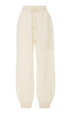 Ulla Johnson Morgana Merino Wool Track Pants Size: XL