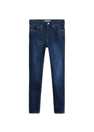 MANGO High waist skinny jeans