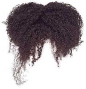 high puff hair