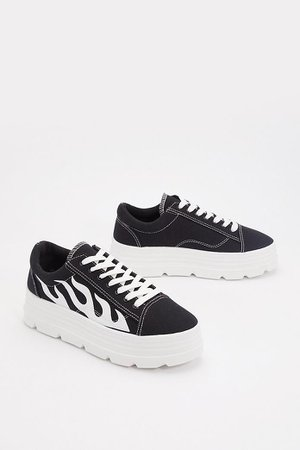 The Heat is On Platform Sneakers | Shop Clothes at Nasty Gal!