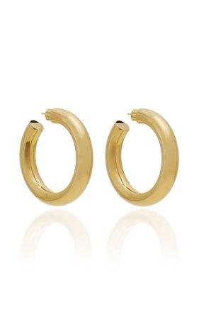 Baby Jamma 14K Gold-Plated Hoop Earrings by Jennifer Fisher | Moda Operandi