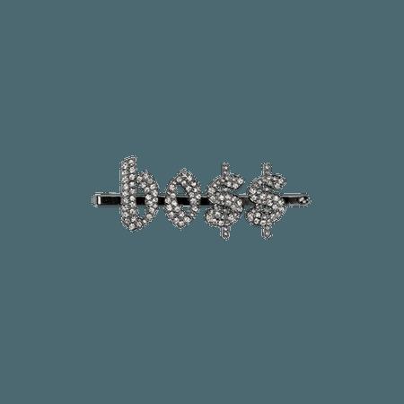 feminist hair clips
