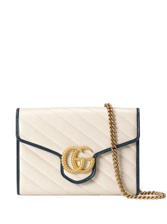 Gucci Gg Marmont Mini Chain Bag Aw20   Farfetch.Com