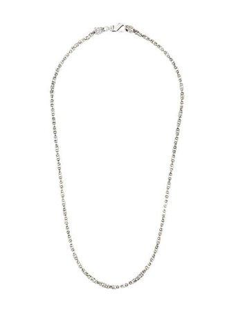 Silver Emanuele Bicocchi Byzantine chain necklace - Farfetch