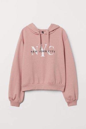 Hooded Sweatshirt - Pink