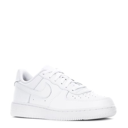 Air Force 1 Low - Boys Kids in White/White/White by Nike | WSS