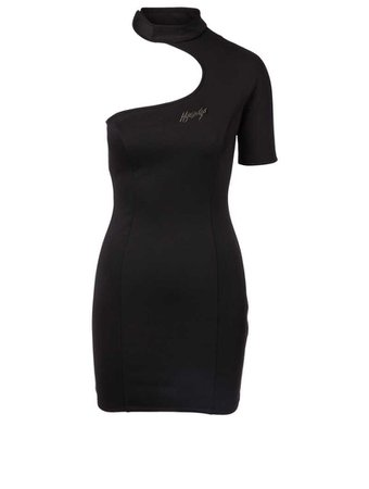 HYEIN SEO Asymmetric Dress With Leather Belt