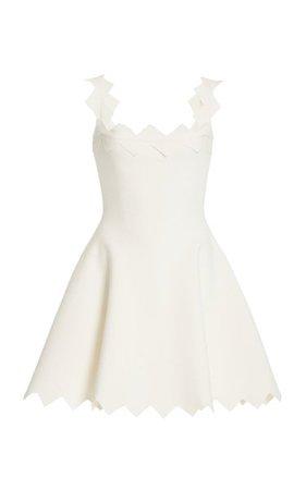 A-Line Knit Dress By Oscar De La Renta | Moda Operandi