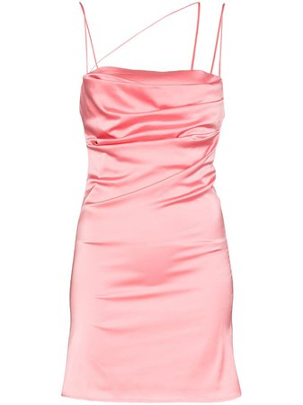 De La Vali Frisco Satin Mini Dress - Farfetch