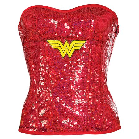 Wonder Woman Bustier Deluxe | Party City