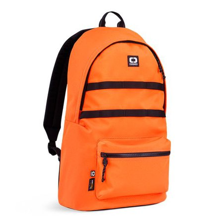 Orange Backpack