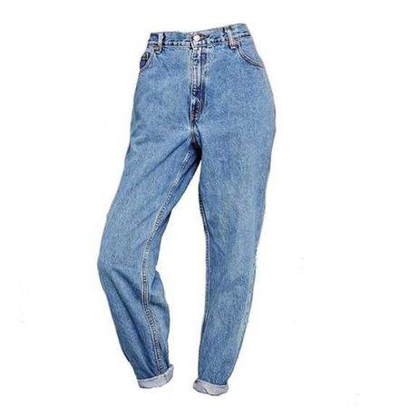 High Waist & Cuffed Jeans