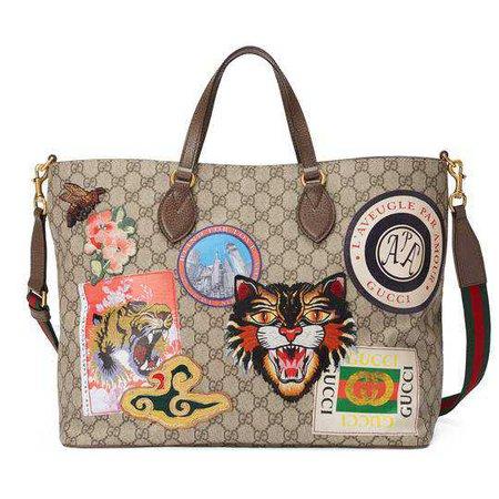 GG Supreme tote - Gucci Women's Totes 410748KGDHN9643